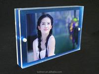 Double sided 4x6 acrylic photo frame