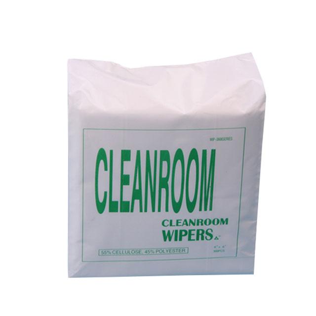 糸くずの出ない環境にやさしいクリーニングクリーンルームワイパ