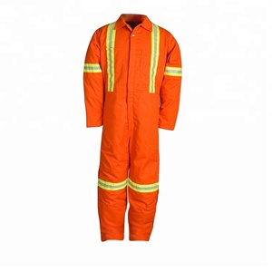 Reflective workwear uniforms industrial uniform Cotton twill coverall