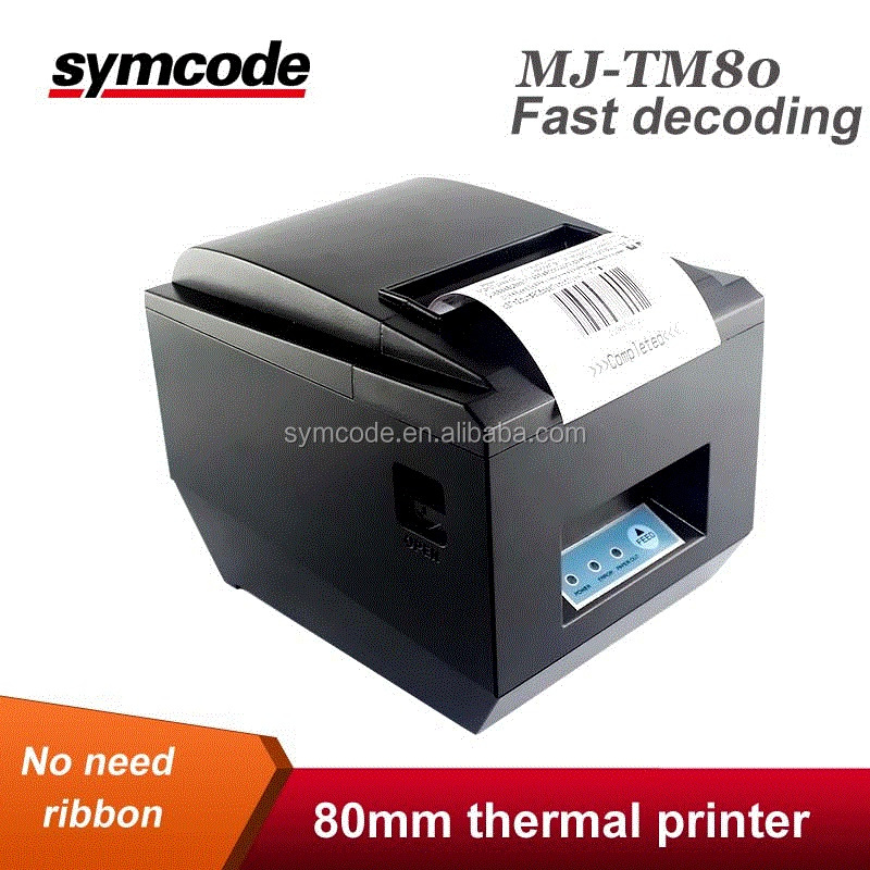 Symcode MJ-TM80 Receipt 80mm Thermal Printer POS Printer 80mm Receipt Printers