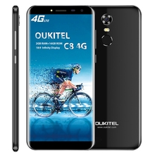ENTSPERRT OUKITEL C8 2 gb + 16 gb 5,5 zoll Android 7.0 MTK6850A <span class=keywords><strong>Quad-Core</strong></span> bis zu 1,3 ghz WCDMA & GSM (Schwarz)