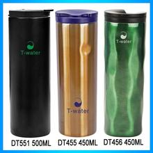 2016 New promotion 16OZ stainless steel vacuum sealed travel mug thermo with mirror or other