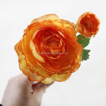 Wholesale Artificial Hanging Paper Silk Cloth Dew Lotus Flower Buy