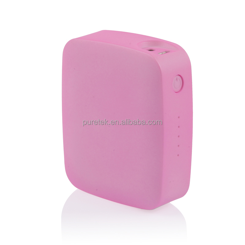 Newest 5-color Cute Cube External Power Bank 5200mAh Battery Power Charger For Iphone5 5S/Samsung/HTC/Digital Camera/Mp3/Mp4