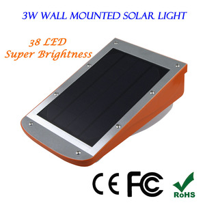 Big Outdoor Solar Led Light Powerful Bright Outside House Lighting