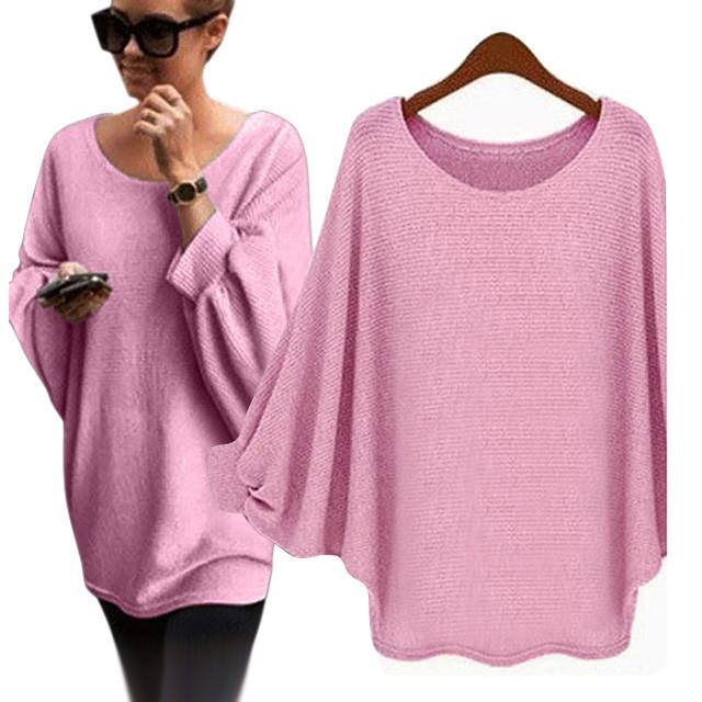 2019 Wholesale 2017 Autumn Winter Women Oversized Sweaters Women ... 2c6b8b667