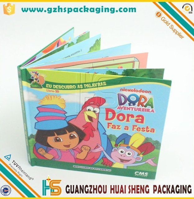 Customize colorful professional children book printing, child books, cardboard books printing manufacturer in China