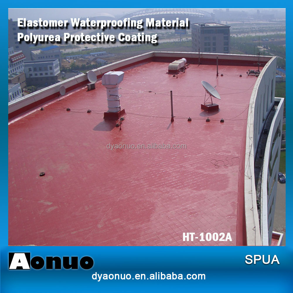 Liquid Polyurethane Paint Polyurea <strong>Coatings</strong> For Industrial Use HT-4001A