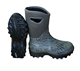 2018 new warm neoprene hunting black rubber boots mens