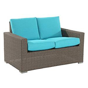 Astonishing Buy Threshold Heatherstone Wicker Patio Sectional Left Arm Theyellowbook Wood Chair Design Ideas Theyellowbookinfo