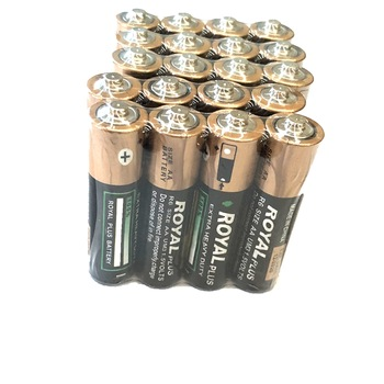 ROYAL PLUS Brand carbon zinc battery AA R6P battery