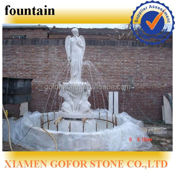 modern garden fountain, lady water fountains