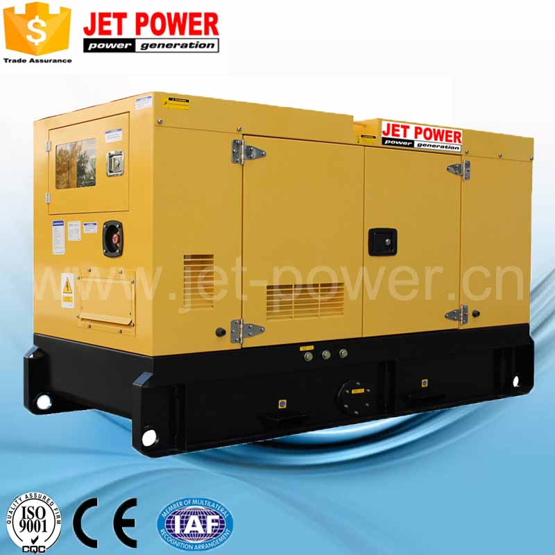 China factory soundproof diesel engine electric power genset 100 kva generator