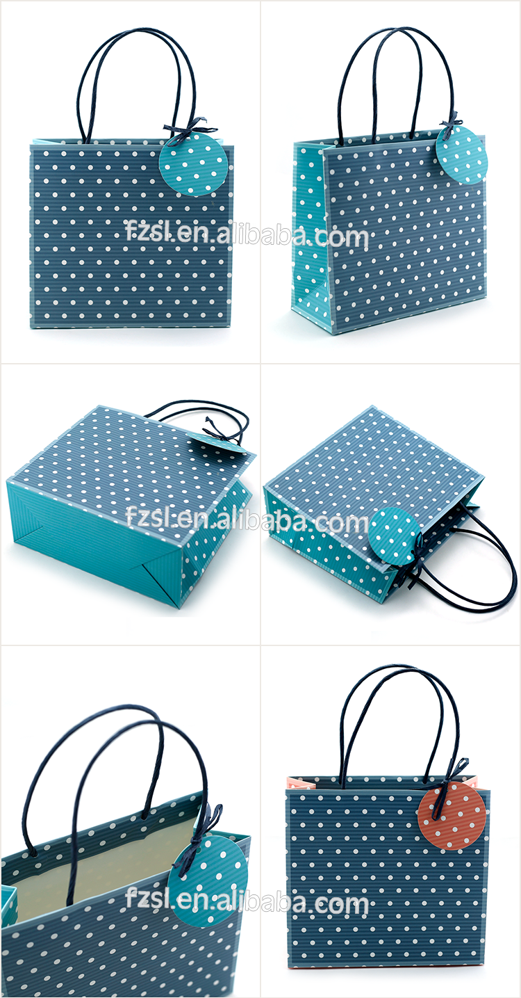 Custom Luxury Gift Shopping Paper gift Bag
