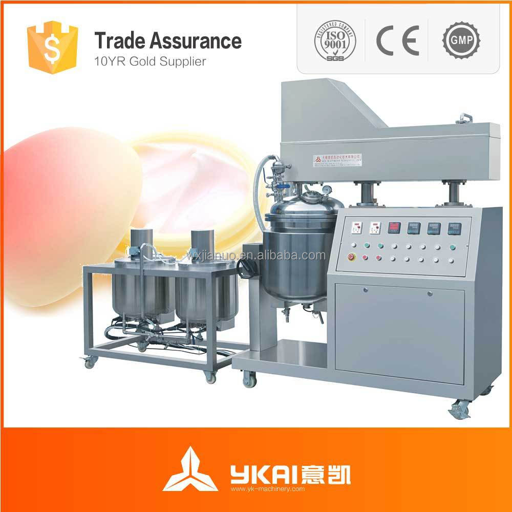hair removal cream permanent making machine,skin care cream making machine,High quality 50L hair removal wax making machine