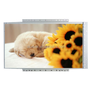 "Open Frame 24"" inch Wide LED Full HD 1080p SAW TouchScreen Monitor with Metal Casing"