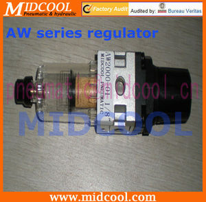 AW series fisher gas pressure regulators
