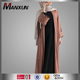 New Elegant Design Long Sleeve Maxi Dress Cardigan Kimono Abaya Simple Style Hot Sell New Models Muslim Abaya Islamic Clothing