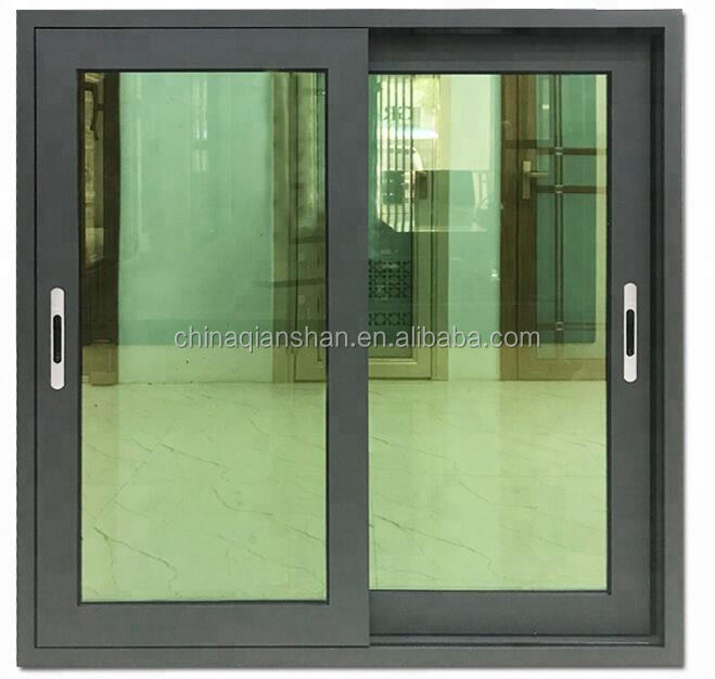 Customized  factory AS2047 Aluminium window manufacturer frosted glass commercial apartment sliding window