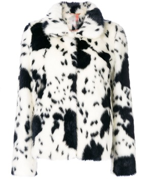 Faux Fur Manufacturers Coats Women Faux Fur Dalmatian Jacket - Buy ... 62d6a30b4a