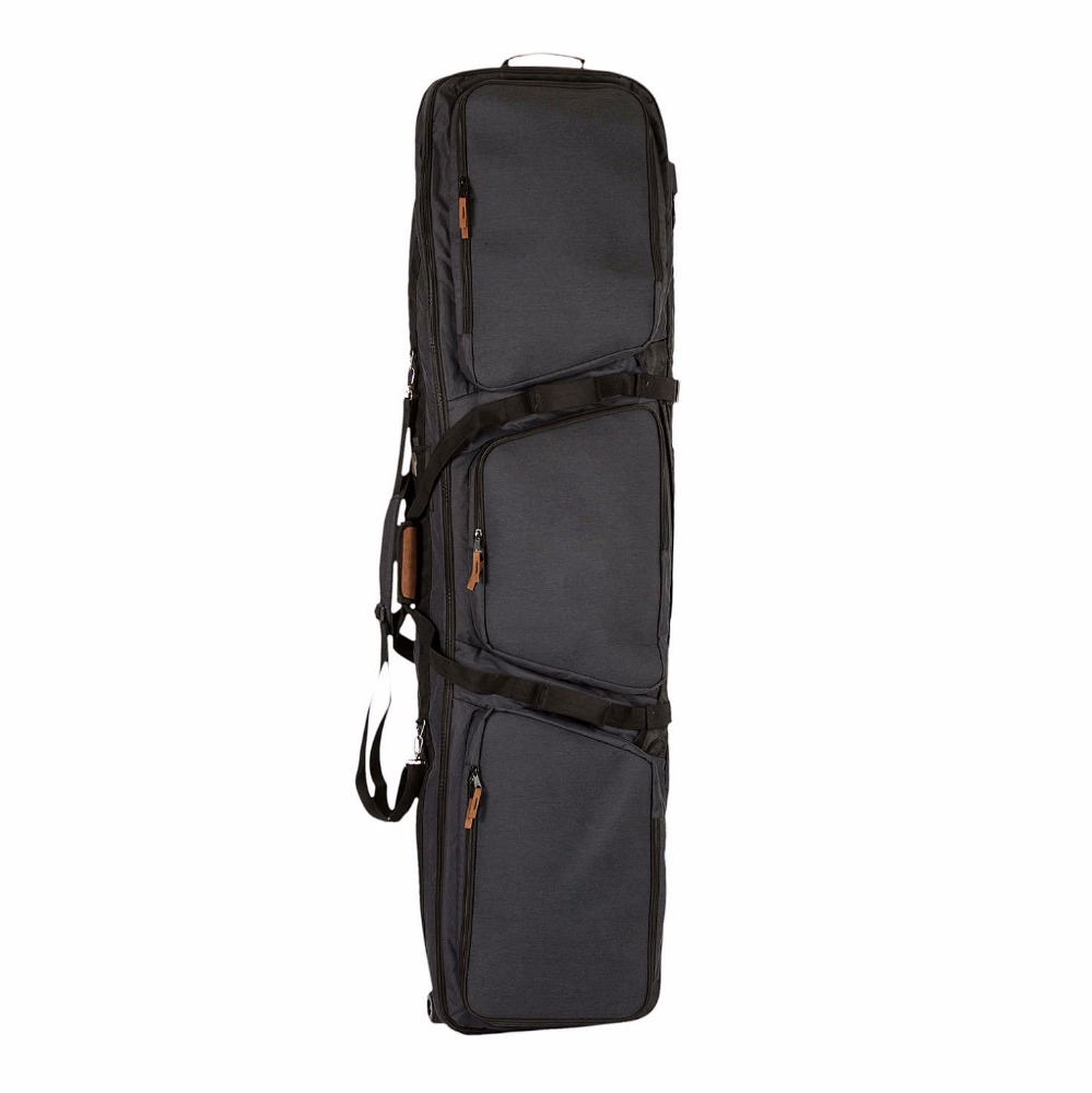 polyester Hot Sale Waterproof Snowboard Bag with wheel ski bag