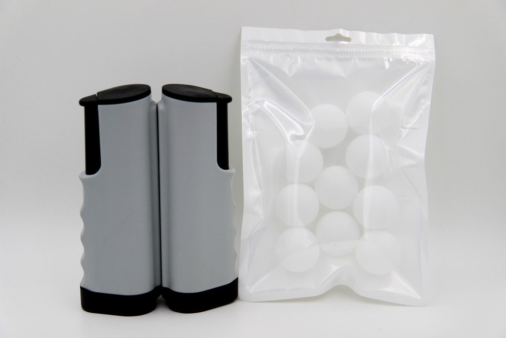Taousa 70082 Retractable Table Tennis Portable Net + 10 PCS Practice Ping Pong Balls