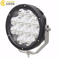 9 Inch Round LED Crees driving light Offroad 120W Spot Beam for Jeep ATV UTV Golf Cart Lighting Trucks