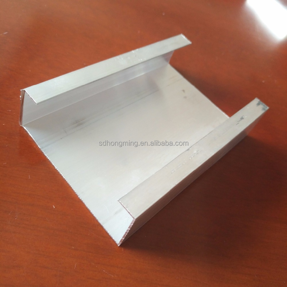 Aluminum hollow section manufacturer/ aluminium small extrusion for channel, furniture aluminum profile