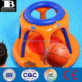 Giant Shootball Inflatable Pool Toy Plastic Floating Game Big Pool Toys
