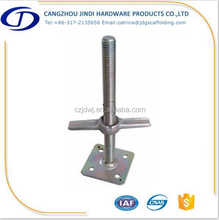 adjustable scaffolding U head jack base , scafolding screw jack