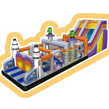 Giant Space Theme Juegos Inflables Inflatable Obstacles Inflatable