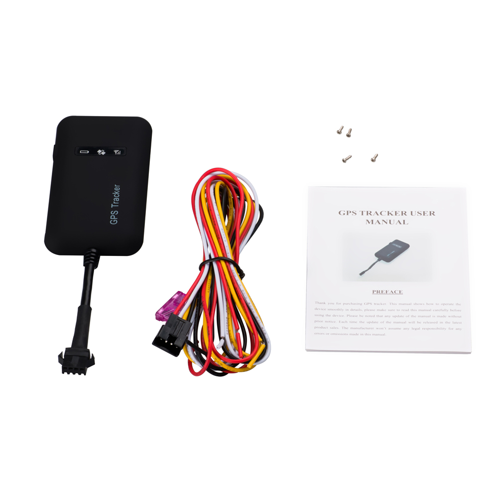 Mini gps sms gprs real time gps tracking device hidden gps tracker for car vehicle bike