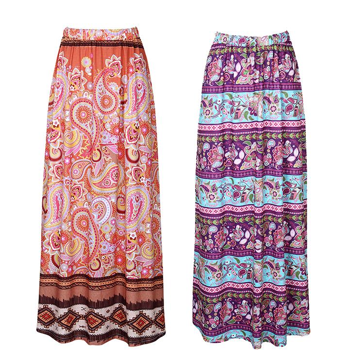 c2b48c42a Venta al por mayor faldas largas indias-Compre online los mejores ...