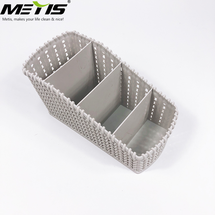 Trade guarantee factory price 19x10x10.5CM storage rattan plastic box