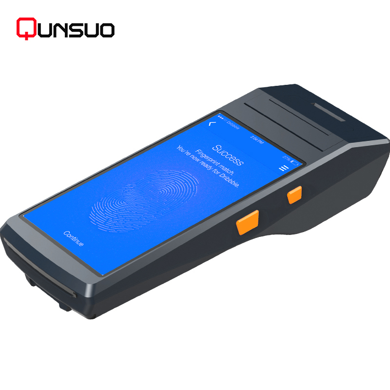 Handheld Android Computer Portable Laser Scan PDA with Built-in Thermal Printer
