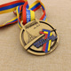 OEM design cheap antique gold sport medal custom made