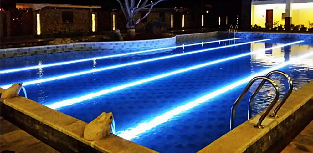 12w Rgb Color Changing Led Underwater Light For Swimming Pool Dmx Led Pool Light Buy Color