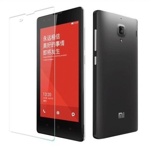 Tempered Glass Screen Protector For MIUI Xiaomi hongmi Red Rice Explosion Proof Clear Toughened Protective Film retail package