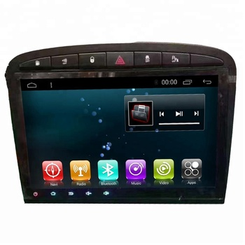Bosstar whole price android car stereo touch screen music TV dvd player for 2013 Peugeot 408