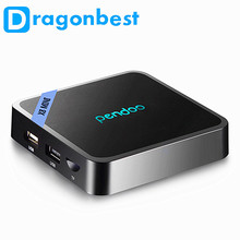Amlogic S905W Mini TV Box Android 7.0 Mini Reproductor de Medios Pendoo X8 HD 1GB DDR3 RAM 8GB ROM HD Reproductor de IPTV en viv