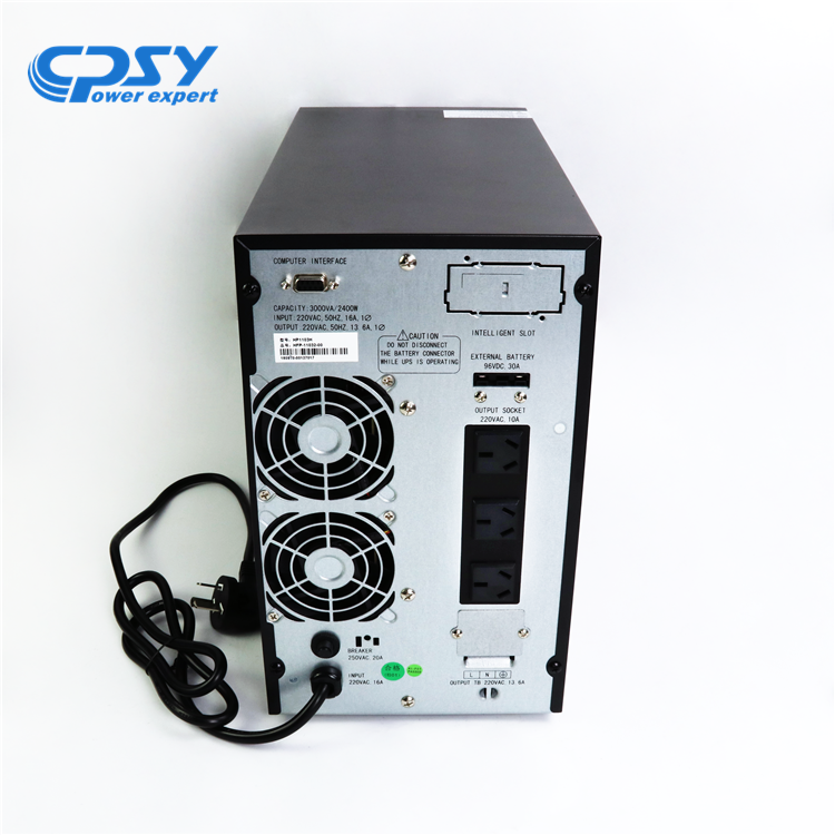 CPSY high quality power double conversion online UPS 3kva price