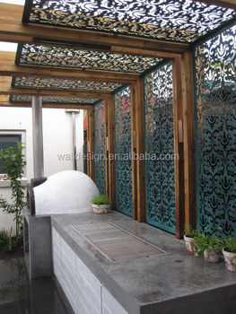Charmant Perforated Laser Cut Metal Garden Screens For Decoration