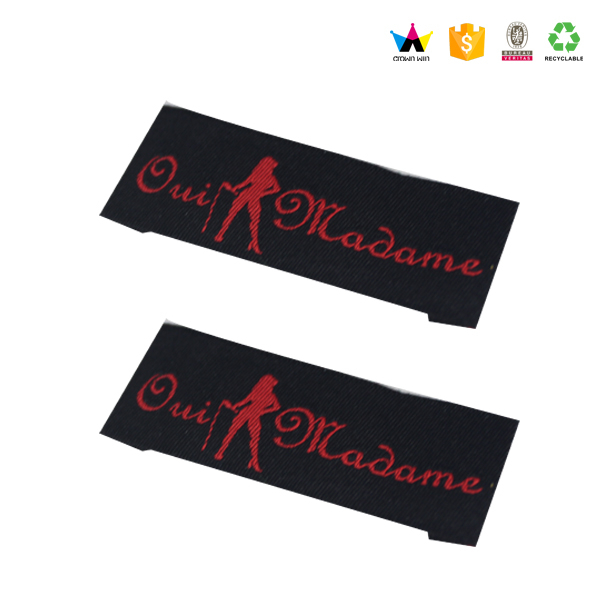 Hot Sale Custom Clothing Woven Labels For Garment