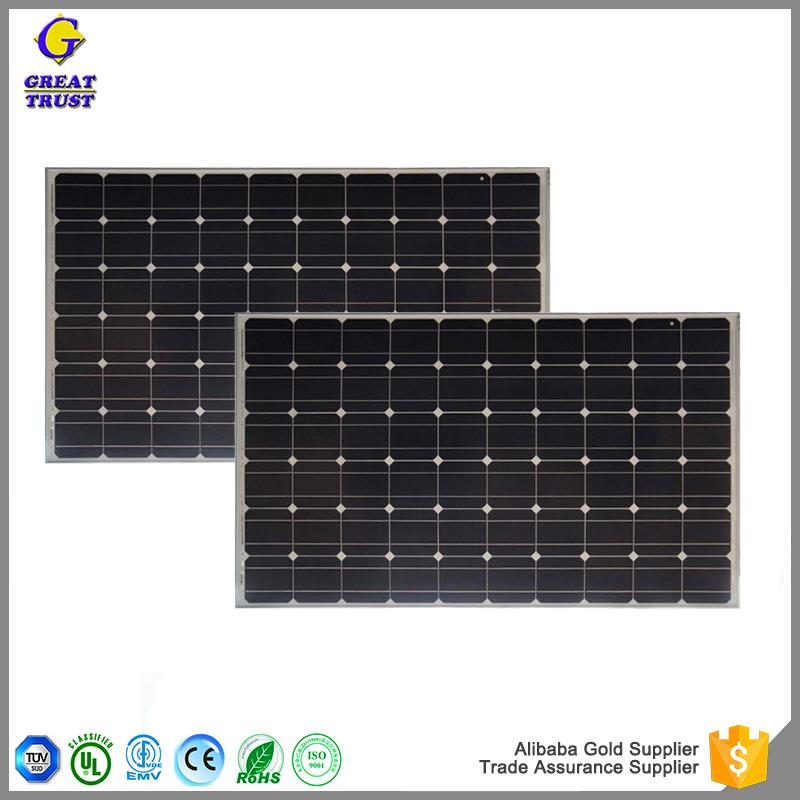New design 250 w solar panel solar panel frame materials flexible solar panel 150 watt