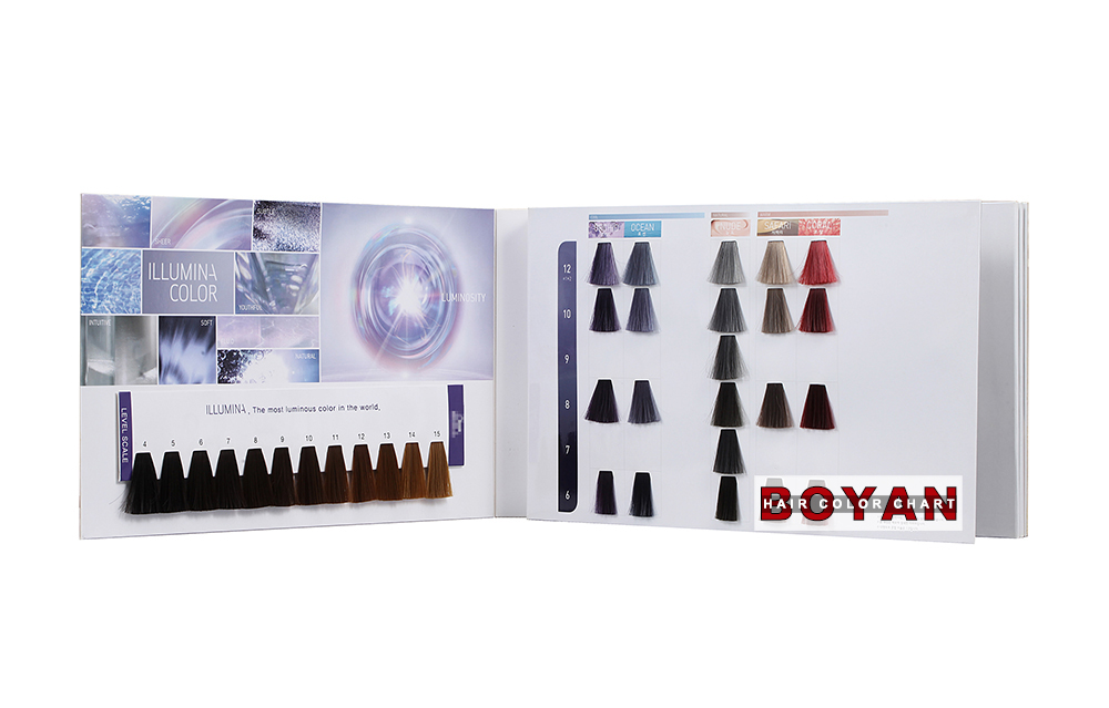 Color Design Hair Color Chart For Hair Dyeing Color Design Hair
