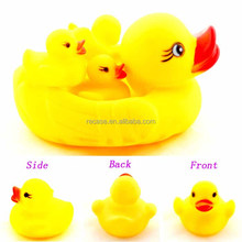 Plastic rubber swemming rubber toy plastic latex swimming toy duck