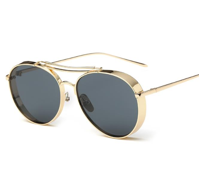 fashionable sunglasses cat ear frame rounded glasses old school sunglasses cut sun shade glasses