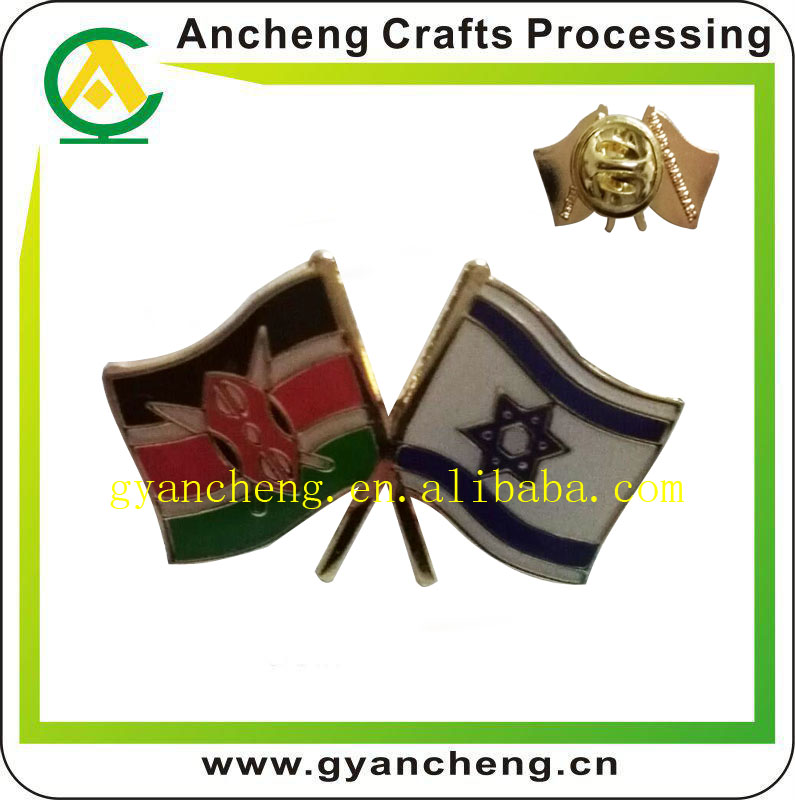 pins pin/'s flag national badge metal lapel backpack hat button vest israel