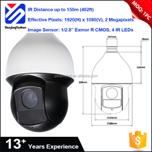 "home guard security ip camera 1/2.8"" Exmor R CMOS IP67 ptz speed dome camera"