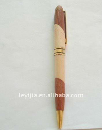 High Recommend Natural Design, Close to Wood Color Promotion Pen